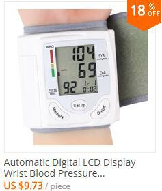 Household Health Care Wrist Blood Pressure Monitor Digital LCD Heart Beat Rate Pulse Meter Automatic Sphygmomanometers tonometer 4
