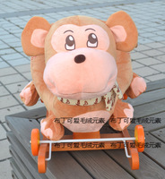 по уходу за детьми лошадка стул троянский конь шерсть пластиковые игрушки браун обезьяна группа музыка