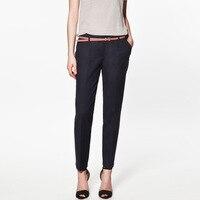 7 цвет мода женщин свободного покроя брюки шаровары для женщин с поясом бесплатная доставка