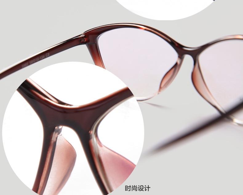 2015 new cat style lens glasses frames for women persol glasses ...