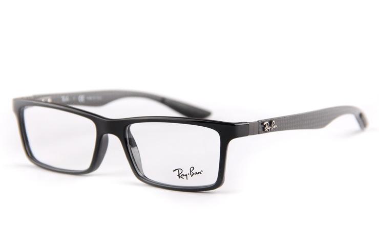 fa5e07457cbaa Carbon fiber board RB8901 Optics glasses TOP Quality Chic glasses ...