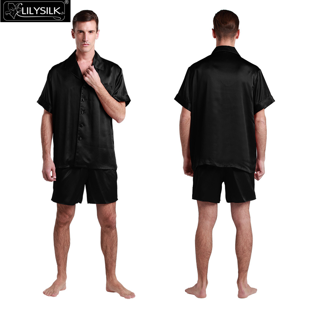 100% Silk Luxury Short Pajamas