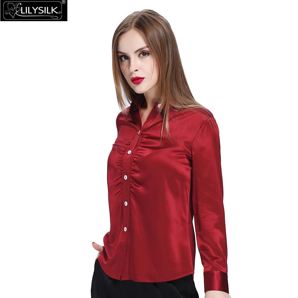 100% Silk Slim Shirt