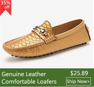 58841d50c85 Merkmak Brand Shoes Luxury Fashion Men Shoes Alligator Genuine Leather  Loafers Men Casual Driving Shoes Mens Flats Mans Hombre