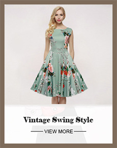 a43b12c3486 ACEVOG Brand S 4XL Women Dress Retro Vintage 1950s 60s Rockabilly ...