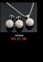 горячая серебряное ожерелье корона с уплотнительное цепи кристалл кулон ожерелье ювелирные изделия для женщин