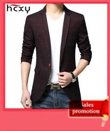 4066702349 111982344 - HCXY модные Для мужчин Блейзер Повседневные комплекты одежды Slim Fit пиджак Для мужчин весна костюм Homme, TERNO masculin Блейзер, куртка