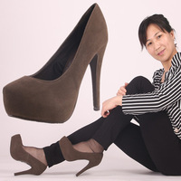 новинка женская удобные туфли на Платформа туфли на блок женская одежда свадебные обувь ультра-высокой туфли на высоком парень для женщины