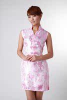 классический Фе в - бюстгальтер провода без рукавов гель с Cook платье китайский стиль старинные мода большой размер платье-чеонгсам