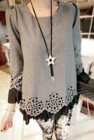 осень и зима мода женщин мех не украшения Chest пальто с ди Recover верхняя одежда v104