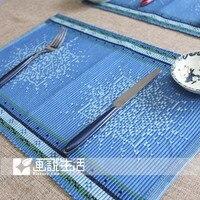 сливовый ткань коврик / обеденный стол циновка / западный колодки / каботажное судно / изоляции войлок коврики и колодки инновационные элементы 1 пк
