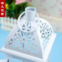 праздник высокое качество идр повесить и подсвечник 9,5 х 9,5 х 29 см, марокканский стиль, декоративные белый, ветрозащитный