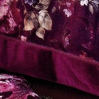 100% хлопок шесть штук установить новое поступление домашний текстиль фиолетовый постельное белье мультиустановка