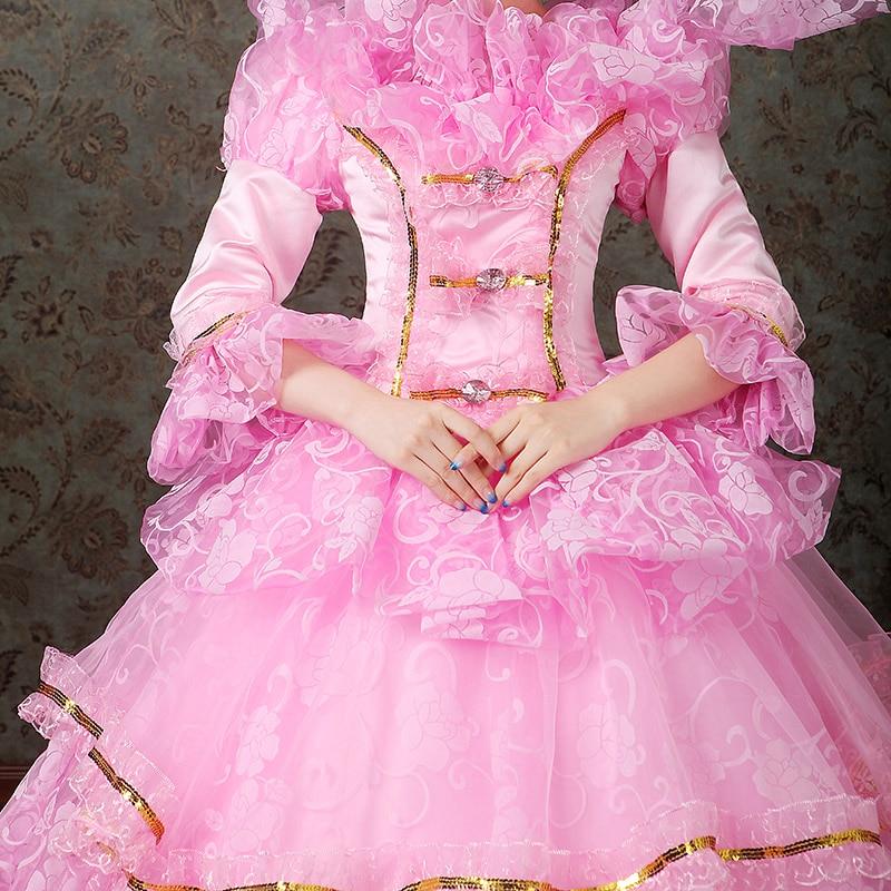 women dress Elegant fashion female royal clothing costume royal female clothes series 5