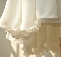 большой размер Chef cel платье белая майка платье лето фея юбка платье без рукавов