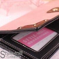 новое поступление лакированная кожа лакированной кожи лоскутное шнурок классический краткое тонкий длинная бумажник