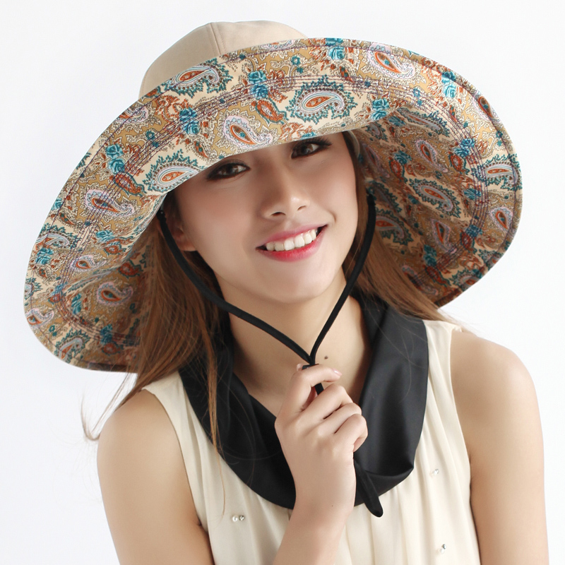 2016 Fashion Large brim millinery dome cap summer sunbonnet ... f579e8511cf3