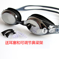 бесплатная доставка близорукость ноутбу анти-туман анти-ультрафиолетового плавательные очки мужчин женщины уф-покрытие для плавания очки для взрослых линзы