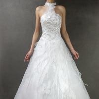 бесплатная доставка специальное предложение красивая! горячая-продажи мода классический sad sad принцесса невесты платье 70