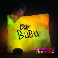 музыка светодиод подушка плюшевые игрушки кукла подарок ткань кукла
