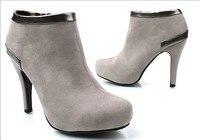 осень и зима новое постулат baht туфли на высоком bloke ботинки мода платформа туфли на высоком bloke женские сапоги бесплатная доставка