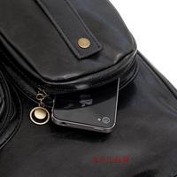 опрятный стильная сумка старинных любителей двойная кожа пряжка на лакированной искусственной кожи школы сумка рюкзак женская сумка большая сумка
