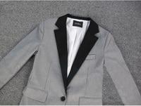 осень мода свободного покроя верхняя одежда, женская пиджак, тонкий осень куртка