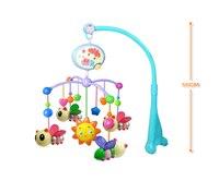 бесплатная доставка, детские музыкальные игрушки, игрушка-колокольчик кровать, кровать Cook би 12 музыка игрушки, опт и Роза