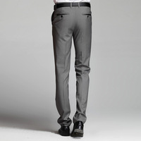 без ребенок свободного покроя прямые брюки тонкий особого ухода мужчины в спам стиле брюки летние брюки бизнес-брюки formal