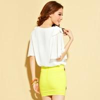 Chef cart рубашка - рукав лето женщины база рубашка без тара Splash цвет Chef верхний