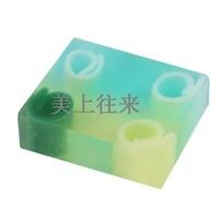 четыре-пространство эфирное масло мяты мыло мыло жасмин мыло антибиотик увлажняющий серы мыло акне р13