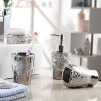 Ceramic золото guanchong 4 комплект свадьба подарок ванная поставки пост