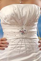бесплатная доставка специальное предложение мода рыбий хвост принцесса с коротким задней свадебное платье 67