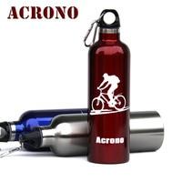 acrono изоляции воды на открытом воздухе бутылки из нержавеющей стали с двойным слоем вакуумные кружка езды