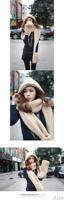 комплект шапка зима мех глушитель шарф перчатки три - в шарф рука теплая комплект