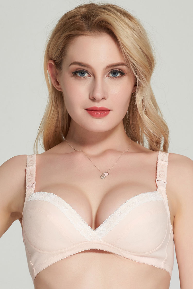 Wire Free Cotton Maternity Bra Nursing Bra Feeding For Pregnant Women cotton nursing bra push up maternity underwear bra 2017 8