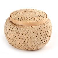 новый бамбука Reel дышащий хранения чая бамбук корину природных украшения дома