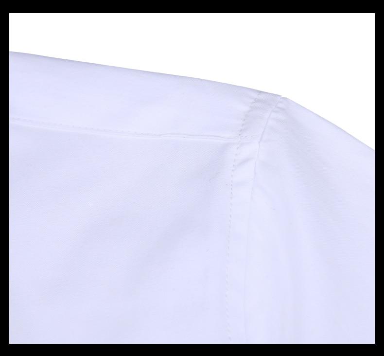 Men long-sleeve shirt Korean style 2019 spring and autumn teenage boy fashion shirt male slim print letter blue black white 12