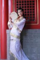 традиция китай тан костюм hanfu одежда для Mascara костюм женский взрослый ДС шоу на сцену платье