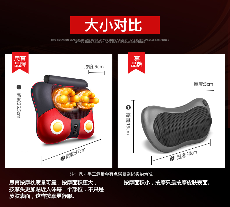 Free Shipping Neck Massager Pillow Electric Shiatsu Cervical Massager Device Household Multifunctional Body Massage Cushion 15