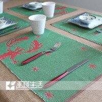 Аллен Baden стол Zinc теплоизоляция холодно / хлопок и лен столовых / чаша диск Cold изоляции площадку для дома
