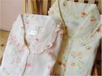 месяц одежды весна и лето хлопок 100% хлопок двойной слой марли Пэм для беременных кормящих одежды для беременных кормящих