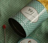 новое поступление метров клубника винтаж цветы для украшения торта круглая олова ящик для хранения