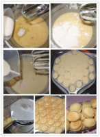 коммерческий закуски с QQ яйцо торт яйцо печи инструменты формула, электрический для пирога, яйцо инструмент