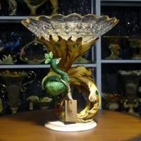 мода кристалл фрукты фрукты сканирования pow качество компотьер wade подарок