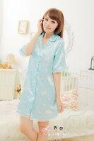 дро женская ночнушка ночной рыбак женщина искушение широкий Elegant Seal pam рубашка платье салон