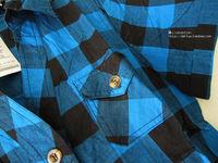 scarlette оснастки в-бюстгальтер провода клетчатую рыбак синий