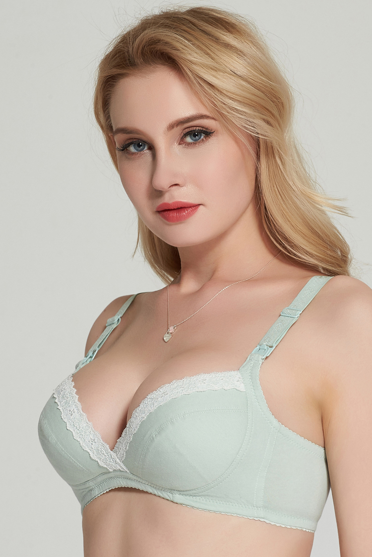 Wire Free Cotton Maternity Bra Nursing Bra Feeding For Pregnant Women cotton nursing bra push up maternity underwear bra 2017 11
