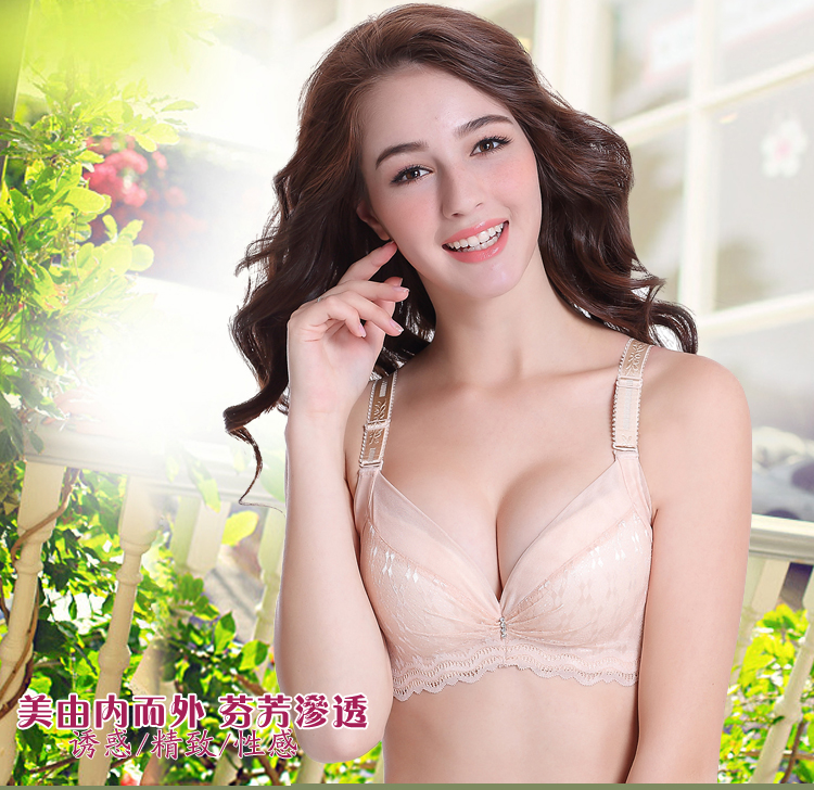 fce53db4038b8 Women Lace Floral Sexy Soild Cup Underwear Push Up Bra Fashion Women ...