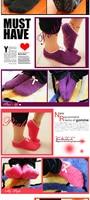 бесплатная доставка с бантом полотенце носок тапочки длиной до пола, носки кондиционер ковер обувь 10 пара/лот